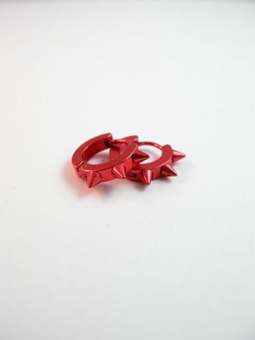 Punaiset korvakorut: 316L