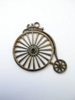 Steampunk-pyörä: Musta 1kpl
