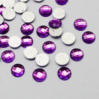 8mm Akryylistrassi: Violetti 50kpl