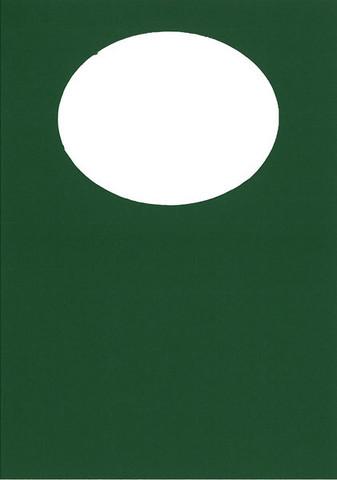 2-os. aukollinen korttipohja vihreä 10kpl