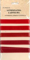 Satiininauhalajitelma: Punainen 5kpl