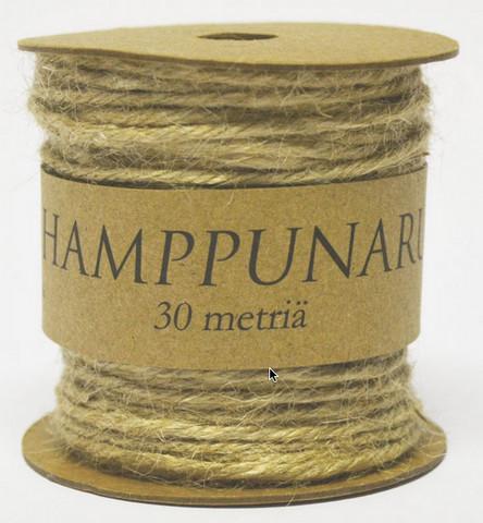 Hamppunaru: Natural 30m