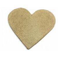 10cm Kovalevy: Sydän 1kpl