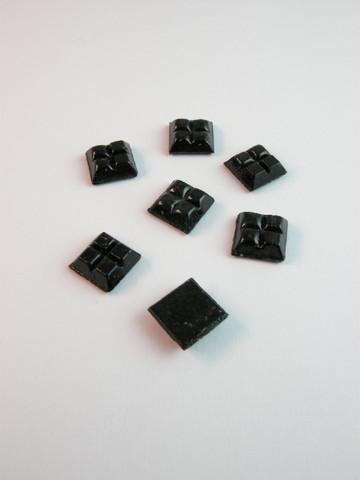 10x10cm Lasimosaiikki: Musta n.111kpl