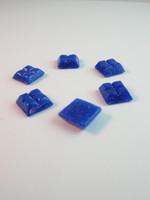 10x10cm Lasimosaiikki: Sininen n.111kpl