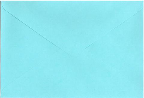 Kirjekuori C6: Vaaleansininen 20kpl