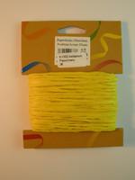 2mm Paperinaru: Keltainen 20m