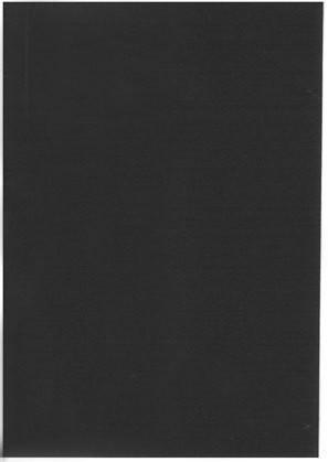 A6 Korttipohja: Musta 1kpl