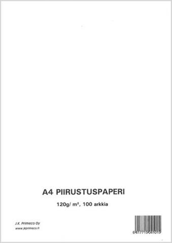 A4 Piirustuspaperi: 100kpl