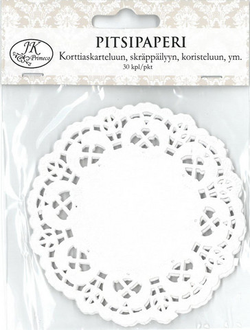 10cm Pitsipaperi: 30kpl