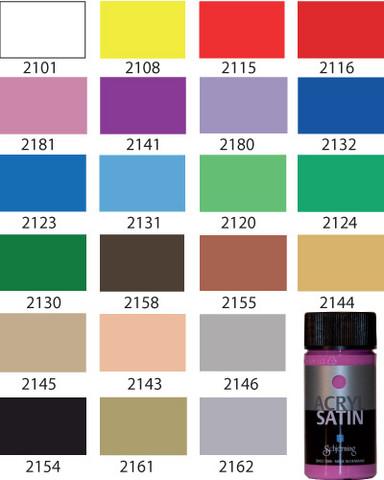 Akryyliväri: ruskea 2158