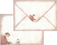 Vintage-kirjekuoret C6 10kpl