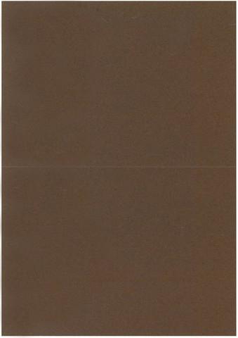 2-os. A6 korttipohja T.ruskea 10kpl