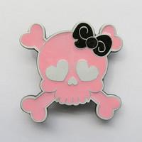 SkullGirl Pink Vyönsolki VS029