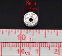 8mm Strassirondellit 10kpl