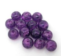 6mm Lasihelmi: Violetti 25kpl