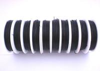 Elastinen korusiima 0,8mm: Musta