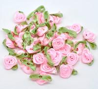 Satiiniruusut: Pinkki 5kpl