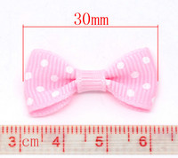 Rusetti 30mm: Pinkki 5kpl