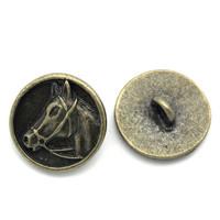 Metallinappi: Hevonen 1kpl