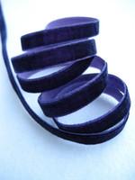 9mm Samettinauha: Violetti