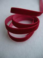 9mm Samettinauha: Punainen