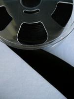 50mm Samettinauha: Musta