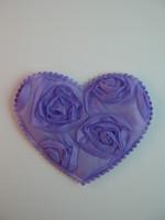 Sydän: Violetti 1kpl