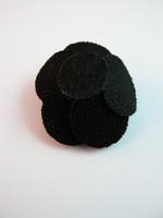 Kangaskukat: Musta 5kpl