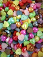 10,5mm Puolihelmet: Sydän 25kpl