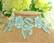 6cm Pitsinauha: Vaalensininen