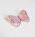 3D Askartelukuvio: Pinkki perhonen