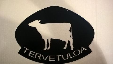 lehmä tervetuloa