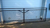 Pihaportti n. 3,5 metrin aukkoon