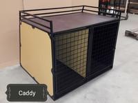 Caddy 2-ovella, runsailla varusteilla