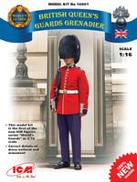 Britih Queen's Guards Grenadier 1/16