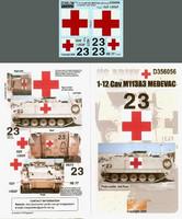 1-12 Cav M113A3 MEDEVAC (OIF) 1/35