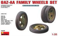 GAZ-AA Family Wheels Set 1/35