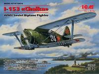 Polikarpov I-153 Tsaika New Tooling 1/72