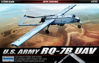 US Army RQ-7B UAW with Two Figures & Stand 1/48