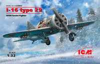 I-16 Type 29 Soviet Fighter 1/32