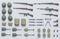 US infantry equipment set WW II 1/35