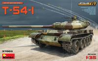 T-54-1 Soviet Medium Tank with Interior Parts 1/35