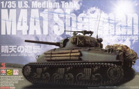 U.S. Medium Tank M4A1 Sherman w/Accessories 1/35