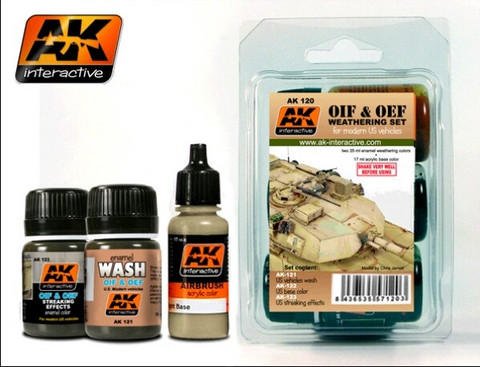 OIF & OEF US Vehicles Weathering Set