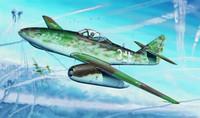 Messerschmitt ME 262 A-1A (WITH R4M ROCKET 1/32