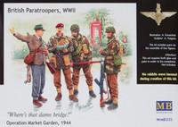 British paratroopers WWII, Operation Market Garden 1944 1/35