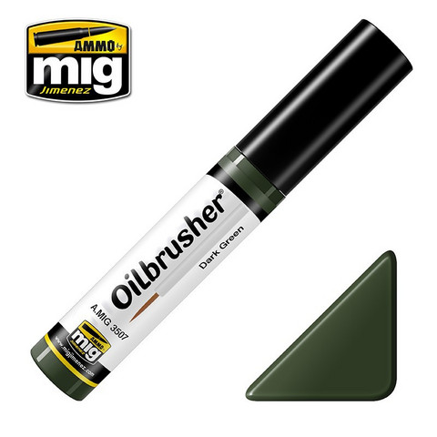 Dark Green Oilbrush