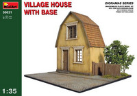 Village House with Base 1/35