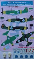 MiG-3 Over Finland (Sis. Dekaaliarkki & resiinipyörät 1/72